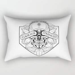 Courage Is What You Need Rectangular Pillow