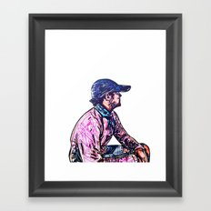 Self P. Framed Art Print