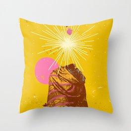 EAGLE SHAMAN Throw Pillow