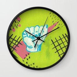 American Sign Language A Wall Clock