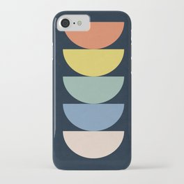 Abstract Flower Palettes iPhone Case