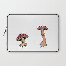 Gentle Mushrooms Laptop Sleeve
