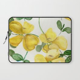 Butterflies and Blooms Laptop Sleeve