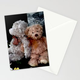 Teddy Bear Buddies Stationery Cards