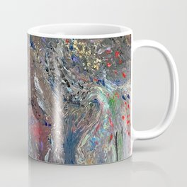 Old Gods Drumming Rough Seas Coffee Mug