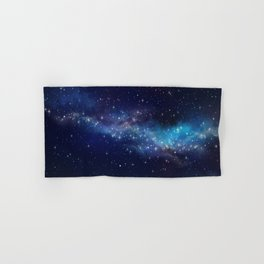 Floating Stars - #Space - #Universe - #OuterSpace - #Galactic Hand & Bath Towel