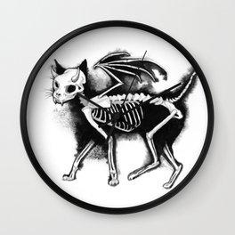 Devil Kitty Wall Clock