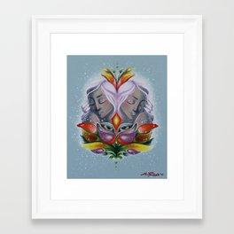 More than Flesh Framed Art Print