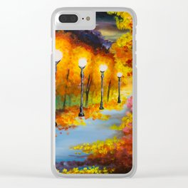 Lights will guide you home Clear iPhone Case