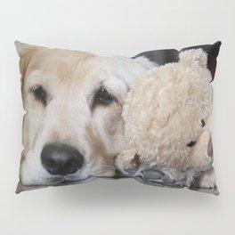Golden Retriever with Best Friend Pillow Sham