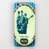 talking heads iPhone & iPod Skins featuring Central Park talking heads 1979 by Del Gaizo