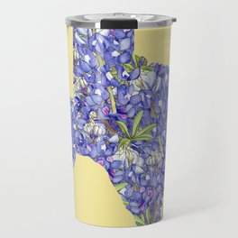 Texas in Flowers Travel Mug