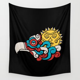 Eagle Sun Wall Tapestry
