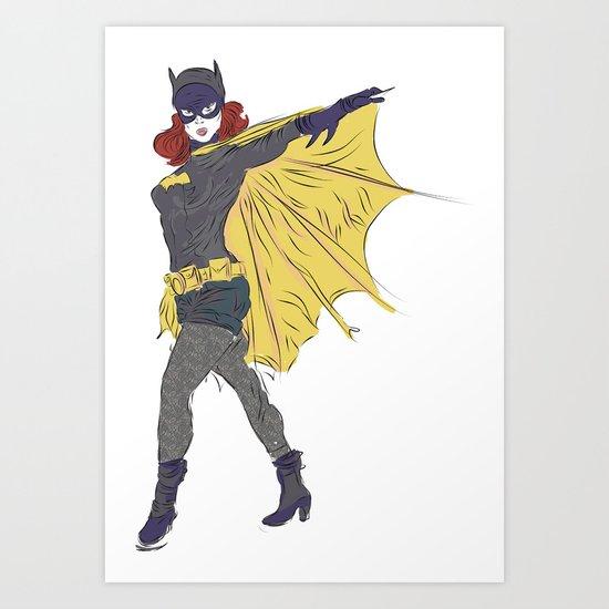 Batgirl [ Alt ] #1 Art Print