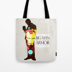 Suit of Armor : Iron Man Tote Bag