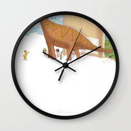 Book Dinossaur Wall Clock