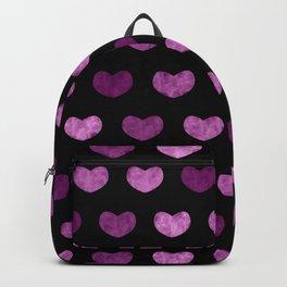 Colorful Cute Hearts VI Backpack