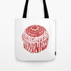 Tea Cake pen drawing (red) Tote Bag