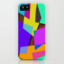 Sharp Shapes texture iPhone Case