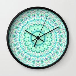 ARABESQUE SPRING MINT Wall Clock