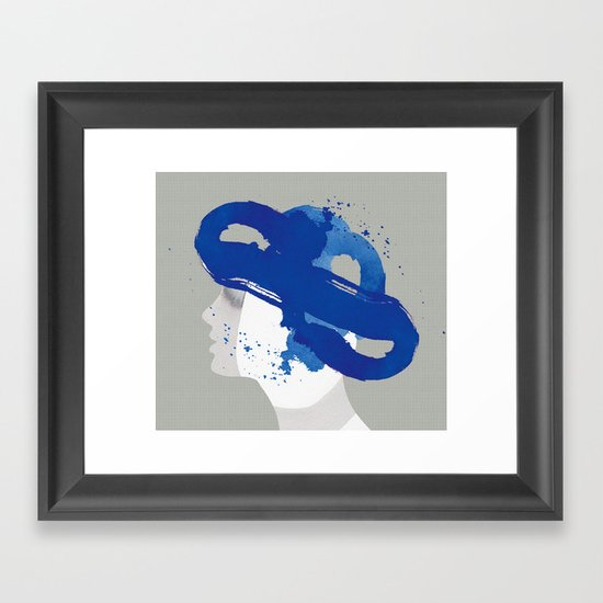 Bonnet Framed Art Print