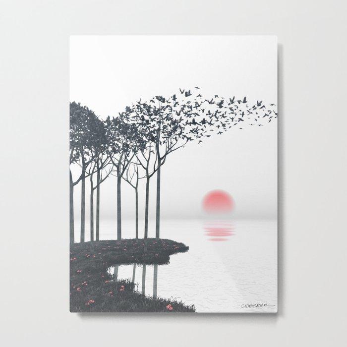 Aki Metal Print
