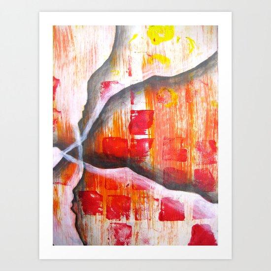 Aloof Art Print