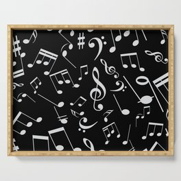 Musical Notes 20 Serving Tray