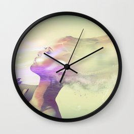 The Sands of Time III Wall Clock