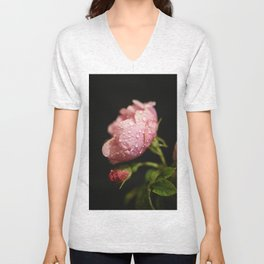 Weeping Rose II Unisex V-Neck