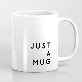 Simple wins typography in white Coffee Mug