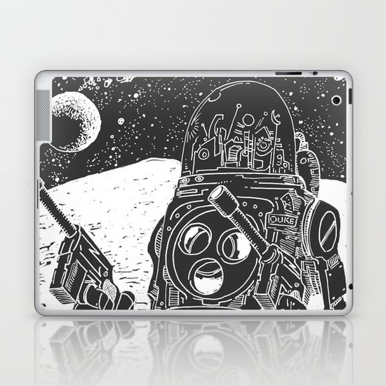 Duke of the Moon Laptop & iPad Skin