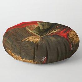 Skull Cowboy Floor Pillow