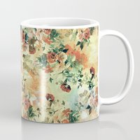 roses Mugs featuring Roses by RIZA PEKER