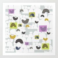 Arch Abstract Art Print