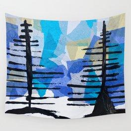 Fir Trees Wall Tapestry