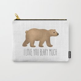 I Love You Beary Much Carry-All Pouch