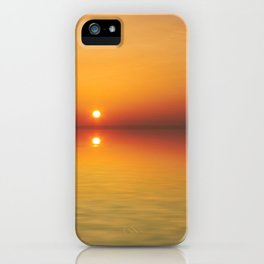 The only sunset iPhone Case