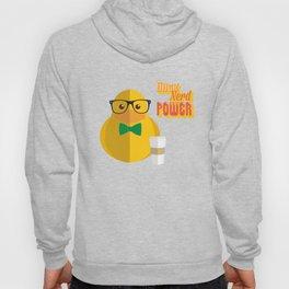 duck nerd power Hoody