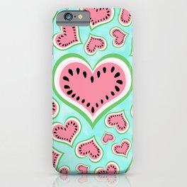 Watermelon Love... iPhone Case