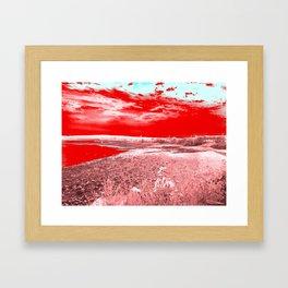 Jason Voorhees' Vision  Framed Art Print