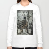 industrial Long Sleeve T-shirts featuring Industrial  by Novella Photography