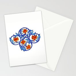 Blue and Orange Stationery Cards