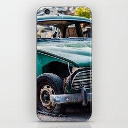 Smashed vintage car iPhone Skin