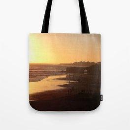 Santa Cruz Beach Tote Bag