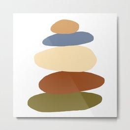 Balanced 3 Metal Print