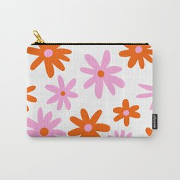 Bright Floral Carry-All Pouch