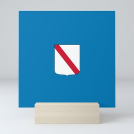 flag of campania Mini Art Print