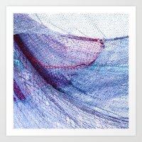 fishing Art Prints featuring fishing by Claudia Drossert