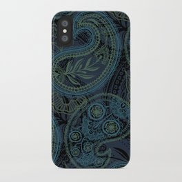 Paisley and Undines iPhone Case